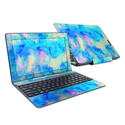 Asus Transformer Book T100T Skin - Electrify Ice Blue