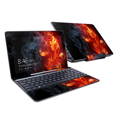 Asus Transformer Book T100T Skin - Flower Of Fire