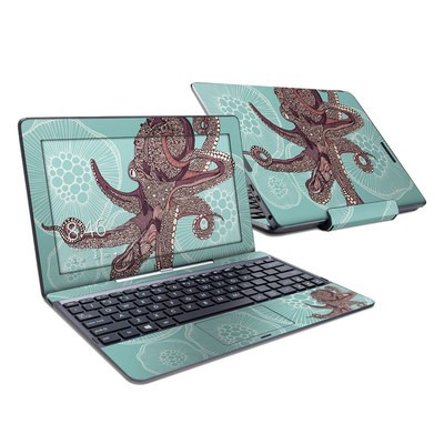 Asus Transformer Book T100T Skin - Octopus Bloom