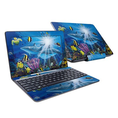 Asus Transformer Book T100T Skin - Ocean Friends