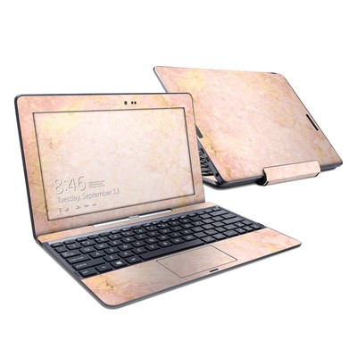 Asus Transformer Book T100T Skin - Rose Gold Marble