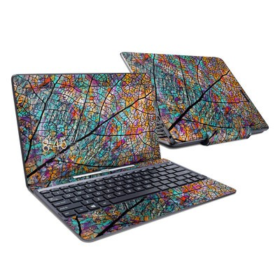 Asus Transformer Book T100T Skin - Stained Aspen