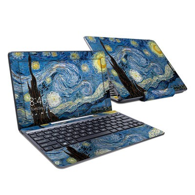 Asus Transformer Book T100T Skin - Starry Night