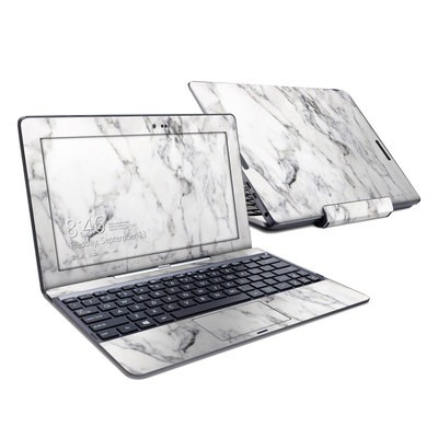 Asus Transformer Book T100T Skin - White Marble