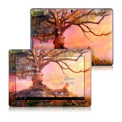 Asus Transformer TF700 Skin - Fox Sunset