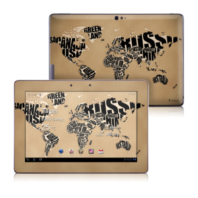 Asus Transformer TF700 Skin - Type Map