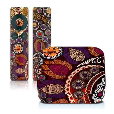 Apple TV 2G Skin - Autumn Mehndi