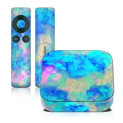Apple TV 2G Skin - Electrify Ice Blue