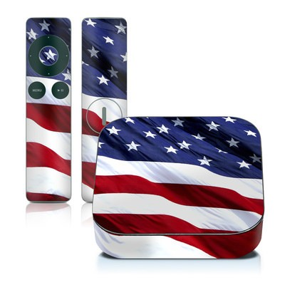 Apple TV 2G Skin - Patriotic