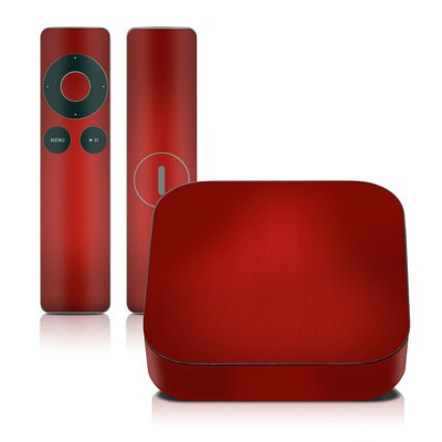 Apple TV 2G Skin - Red Burst