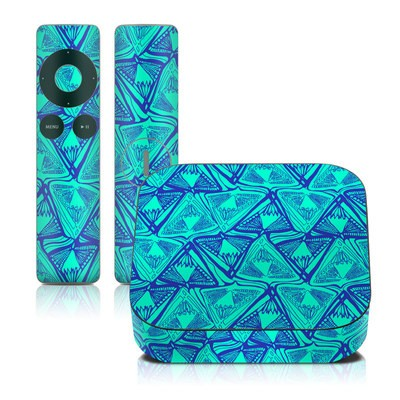 Apple TV 2G Skin - Tribal Beat