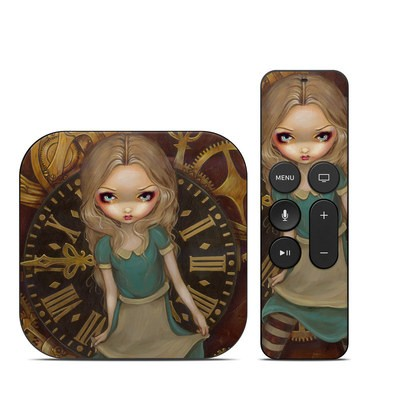 Apple TV 4th Gen Skin - Alice Clockwork