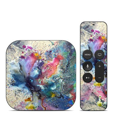 Apple TV 4th Gen Skin - Cosmic Flower