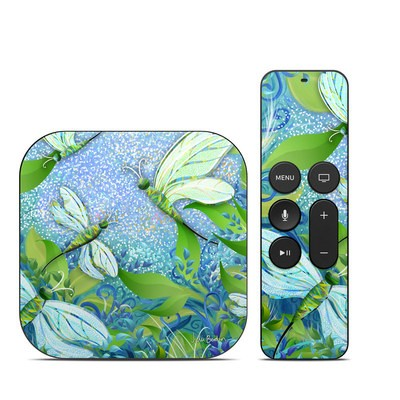 Apple TV 4th Gen Skin - Dragonfly Fantasy