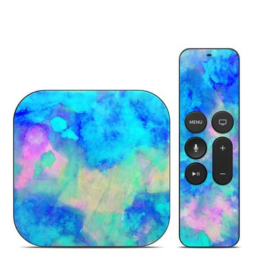 Apple TV 4th Gen Skin - Electrify Ice Blue