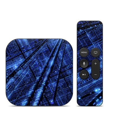 Apple TV 4th Gen Skin - Grid