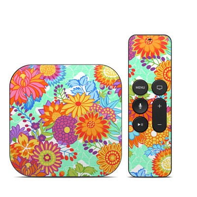 Apple TV 4th Gen Skin - Jubilee Blooms