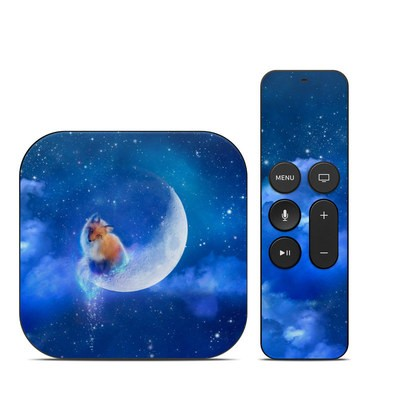 Apple TV 4th Gen Skin - Moon Fox