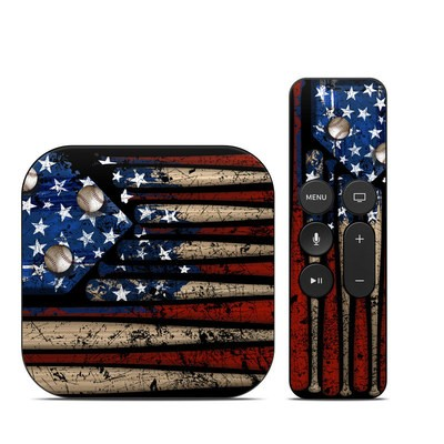 Apple TV 4th Gen Skin - Old Glory