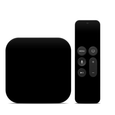 Apple TV 4th Gen Skin - Solid State Black