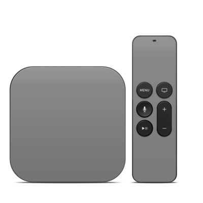 Apple TV 4th Gen Skin - Solid State Grey
