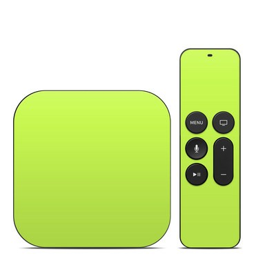 Apple TV 4th Gen Skin - Solid State Lime