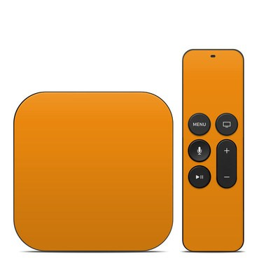 Apple TV 4th Gen Skin - Solid State Orange