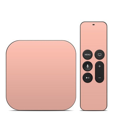 Apple TV 4th Gen Skin - Solid State Peach