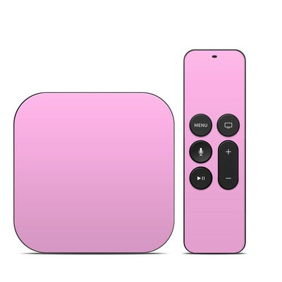 Apple TV 4th Gen Skin - Solid State Pink