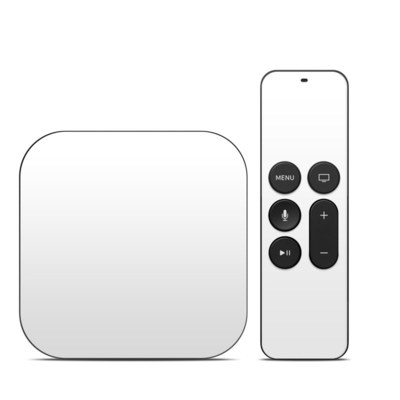 Apple TV 4th Gen Skin - Solid State White