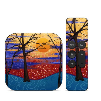 Apple TV 4th Gen Skin - Sunset Moon