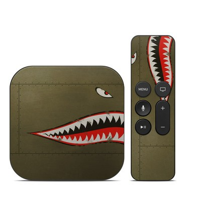 Apple TV 4th Gen Skin - USAF Shark