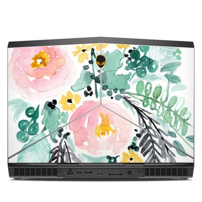 Alienware 15R3 15.6in Skin - Blushed Flowers