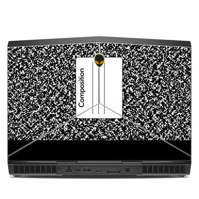 Alienware 15R3 15.6in Skin - Composition Notebook