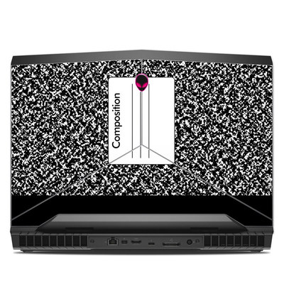Alienware 17R4 17.3in Skin - Composition Notebook
