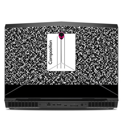 Alienware 17R5 17.3in Skin - Composition Notebook