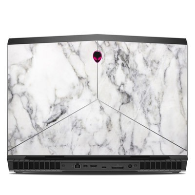 Alienware 17R5 17.3in Skin - White Marble