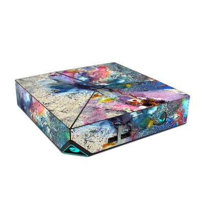 Alienware Steam Machine Skin - Cosmic Flower