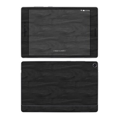 Asus ZenPad S 8in Skin - Black Woodgrain