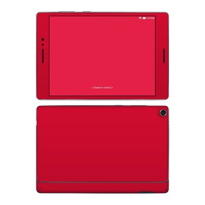 Asus ZenPad S 8in Skin - Solid State Red