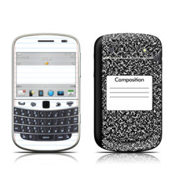 BlackBerry Bold 9930 Skin - Composition Notebook