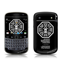 BlackBerry Bold 9930 Skin - Dharma Black