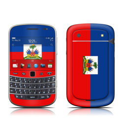 BlackBerry Bold 9930 Skin - Haiti Flag