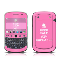 BlackBerry Bold 9930 Skin - Keep Calm - Cupcakes