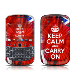 BlackBerry Bold 9930 Skin - Keep Calm - Burst