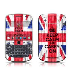BlackBerry Bold 9930 Skin - Keep Calm - Grunge