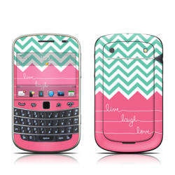 BlackBerry Bold 9930 Skin - Live Laugh Love