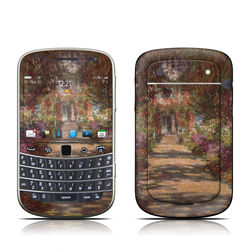 BlackBerry Bold 9930 Skin - Monet - Garden at Giverny
