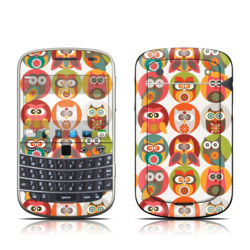 BlackBerry Bold 9930 Skin - Owls Family