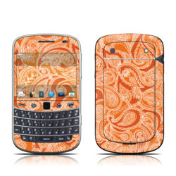 BlackBerry Bold 9930 Skin - Paisley In Orange